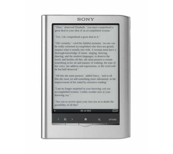 Discovering ebooks and the sony ereader bookish ardour i fandeluxe Choice Image