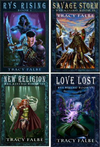 Rys Rising Series - Covers