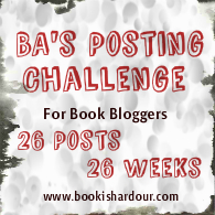 BA's 26 Posts Challenge for Book Bloggers